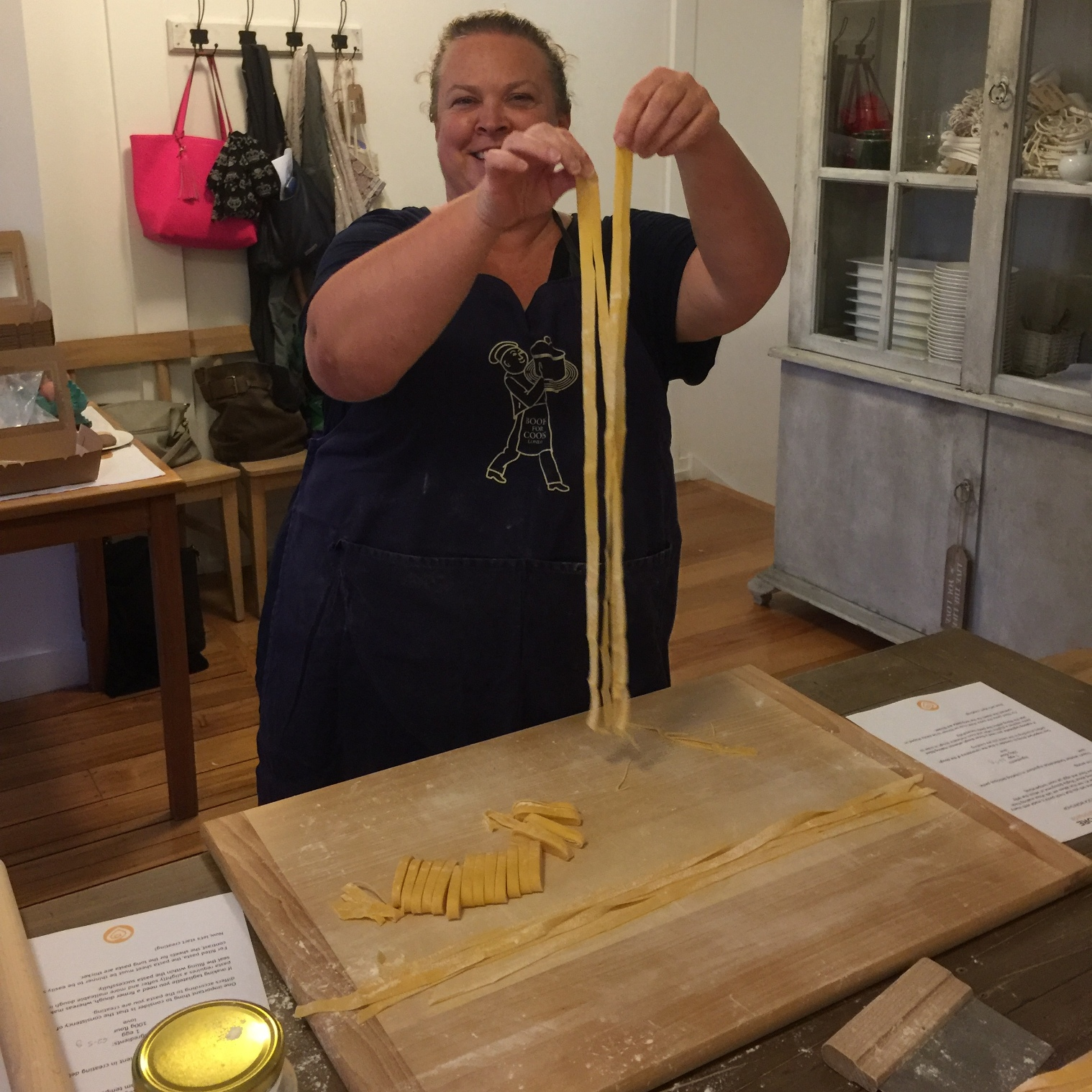 A proud moment with my tagliatelle