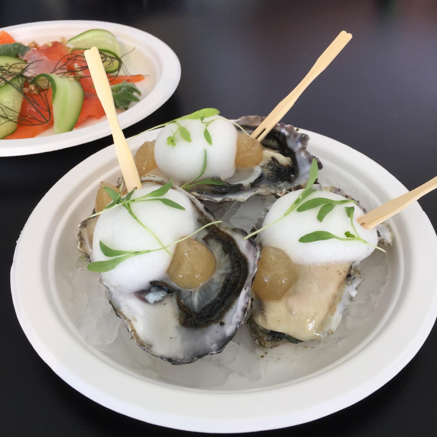 Te Kouma Bay oysters with dashi whip coriander.jpg