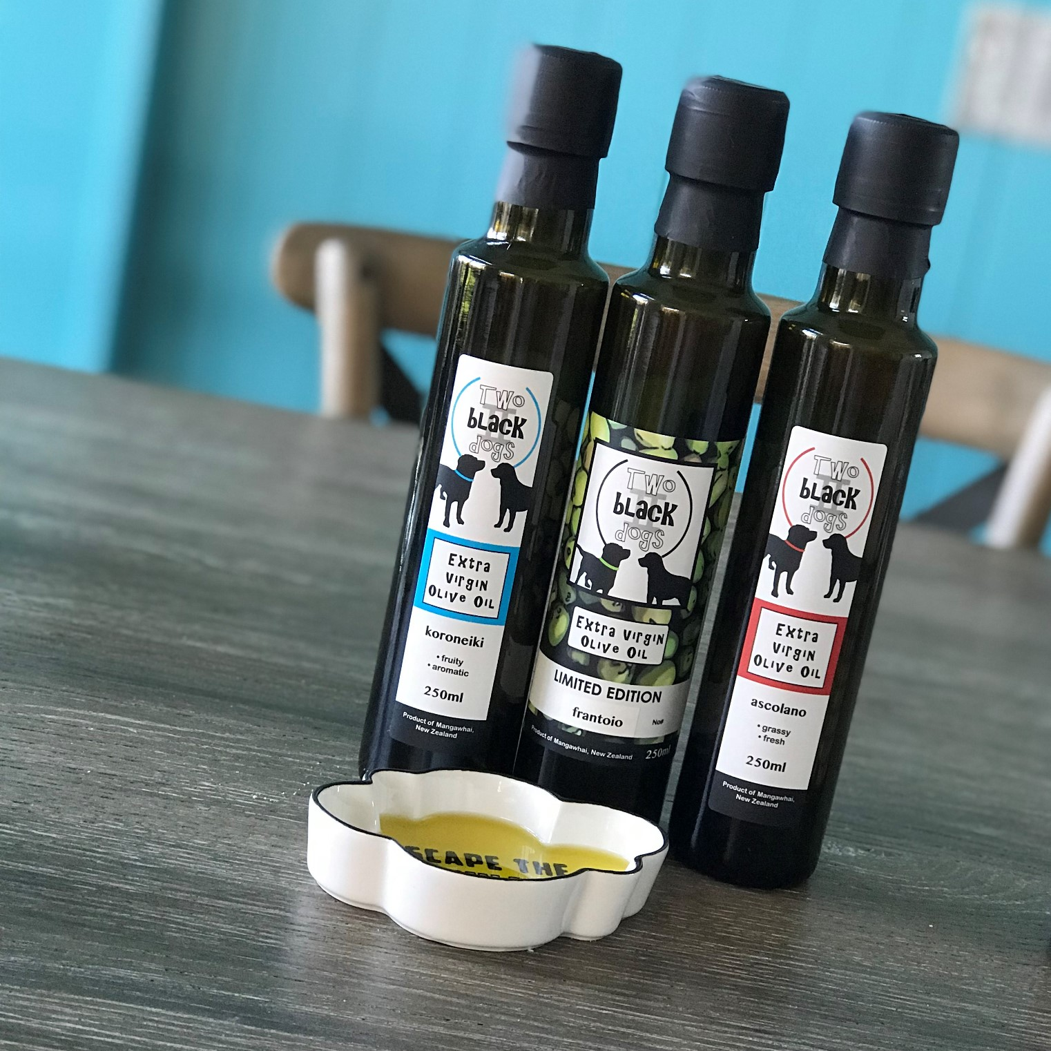Two black dogs olive oil 1.jpeg
