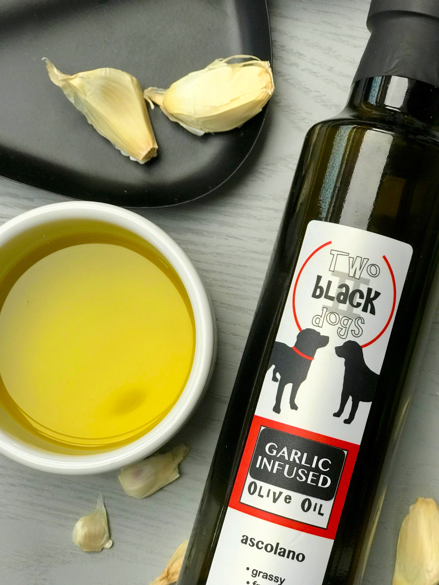 Two black dogs olive oil 2 p.jpeg