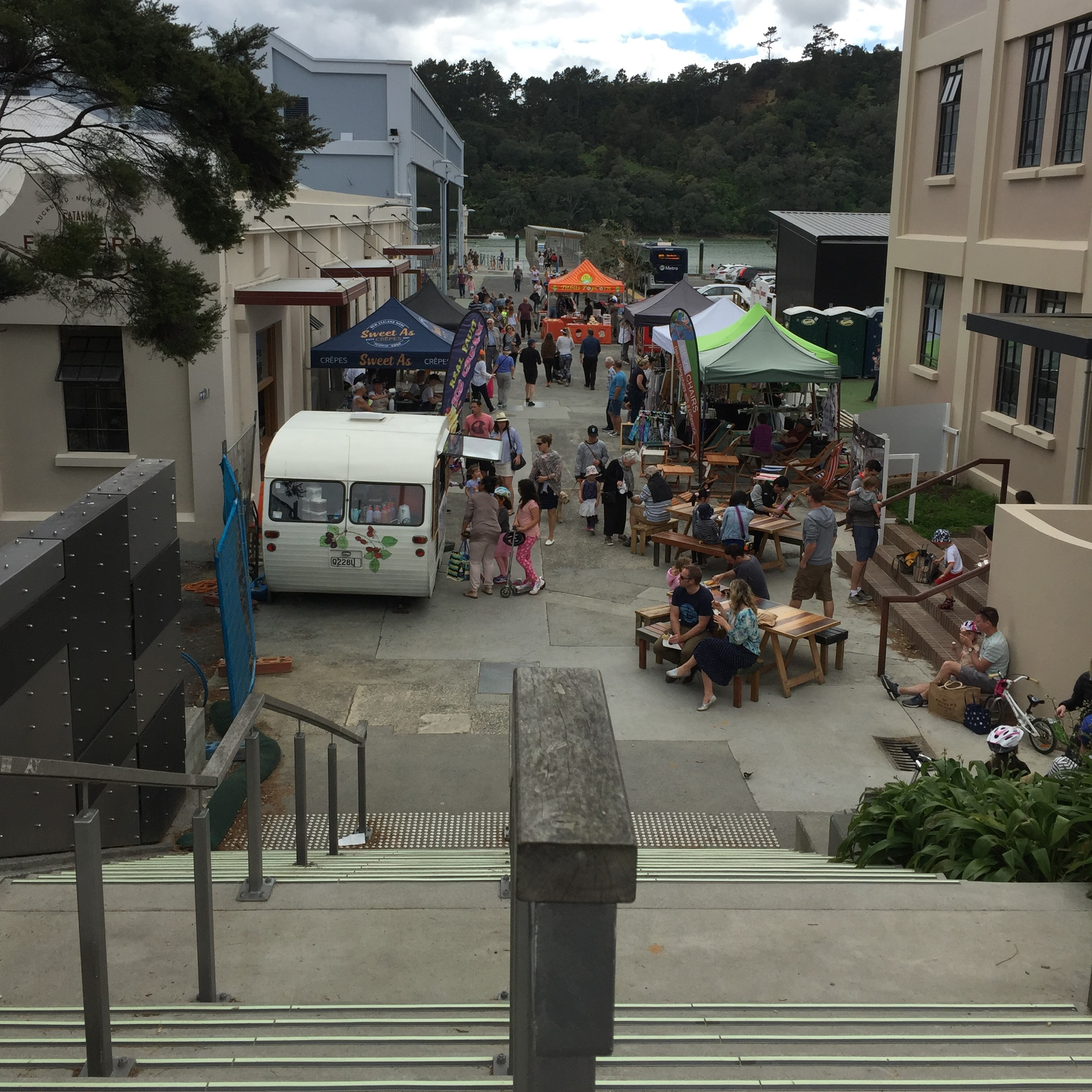 Join the throngs of people enjoying the weekend market