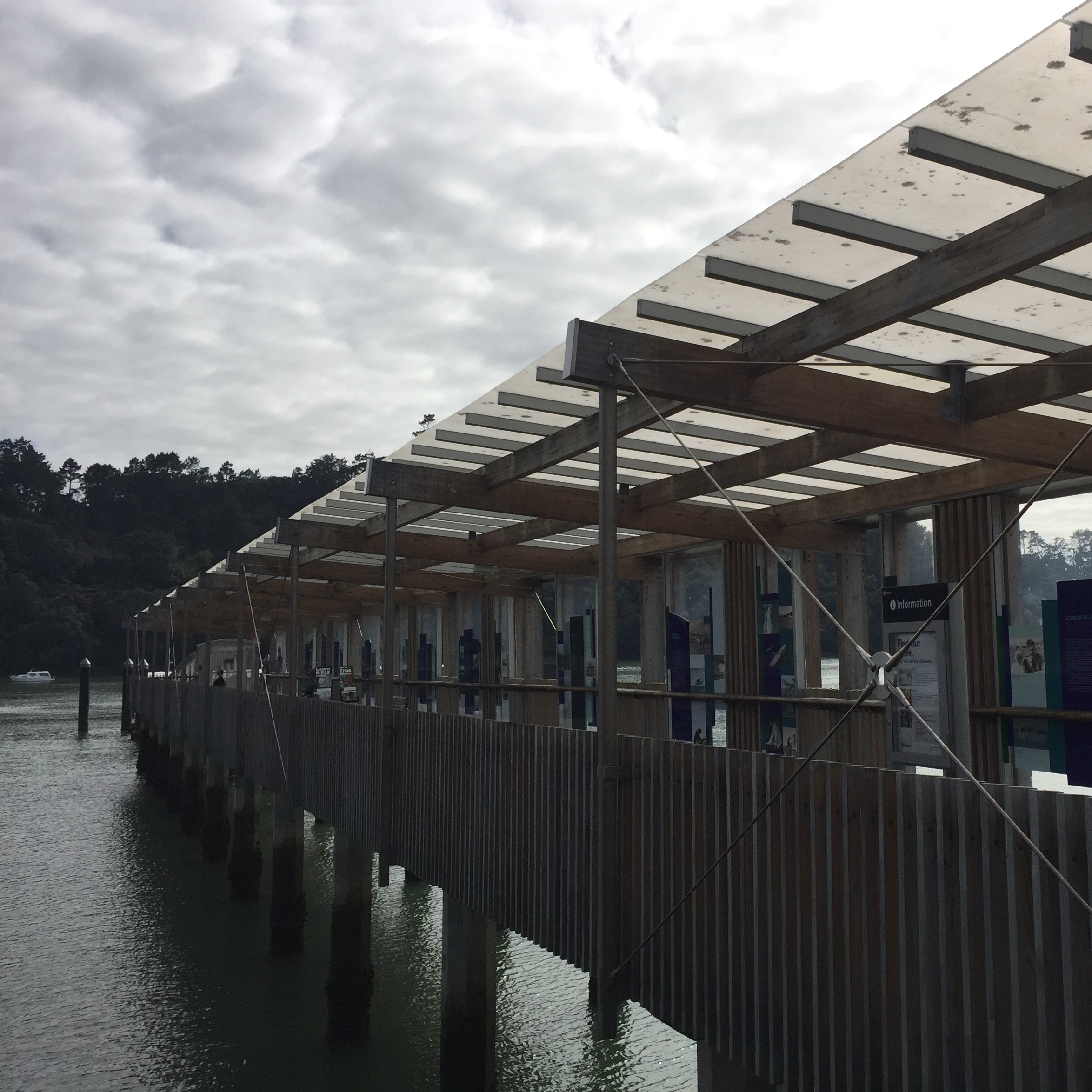 Hobsonville Point ferry wharf