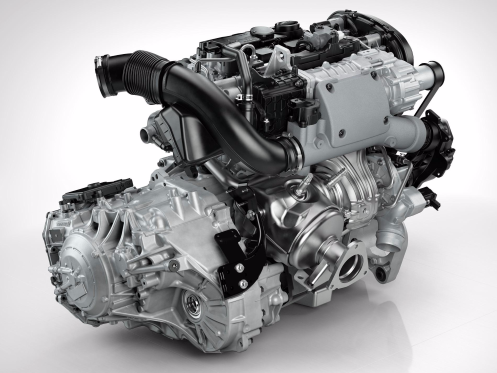 Last year, Volvo's 2.0-liter, 240-horsepower turbocharged Drive-E engine took home one of Ward's trophies. This year, Volvo's Drive-E is back with a turbocharger and a supercharger.The 316-horsepower engine powers Business Insider's 2015 Car of the Year — the Volvo XC90 T6.