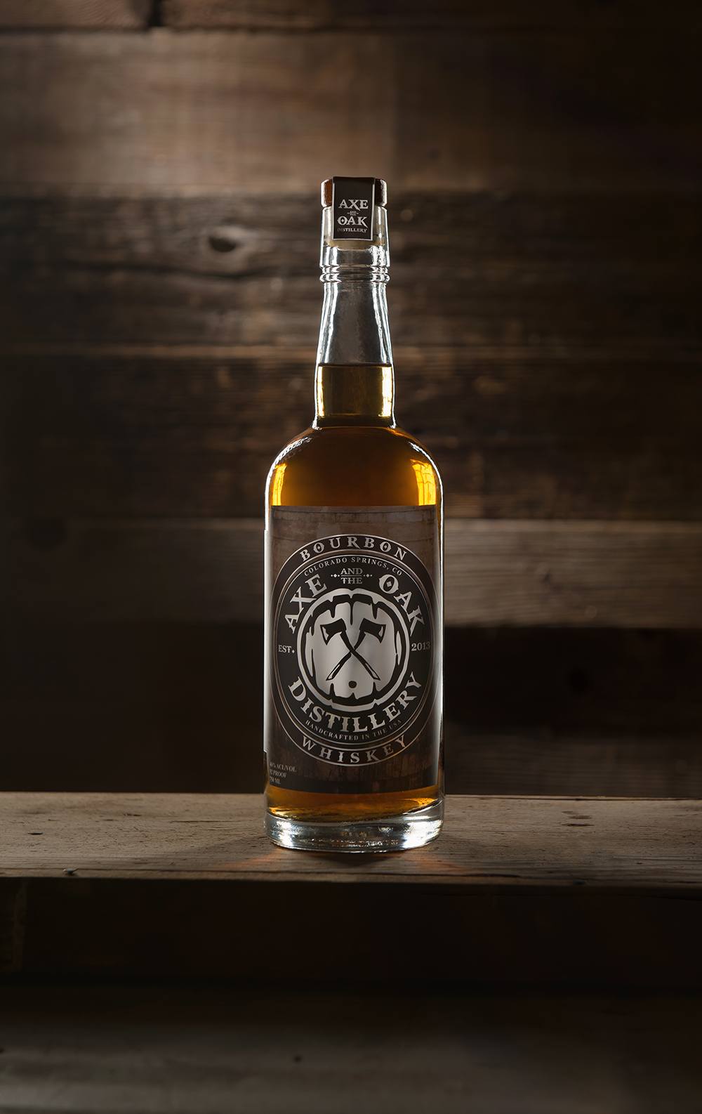 Axe and the Oak Colorado Mountain Bourbon Whiskey