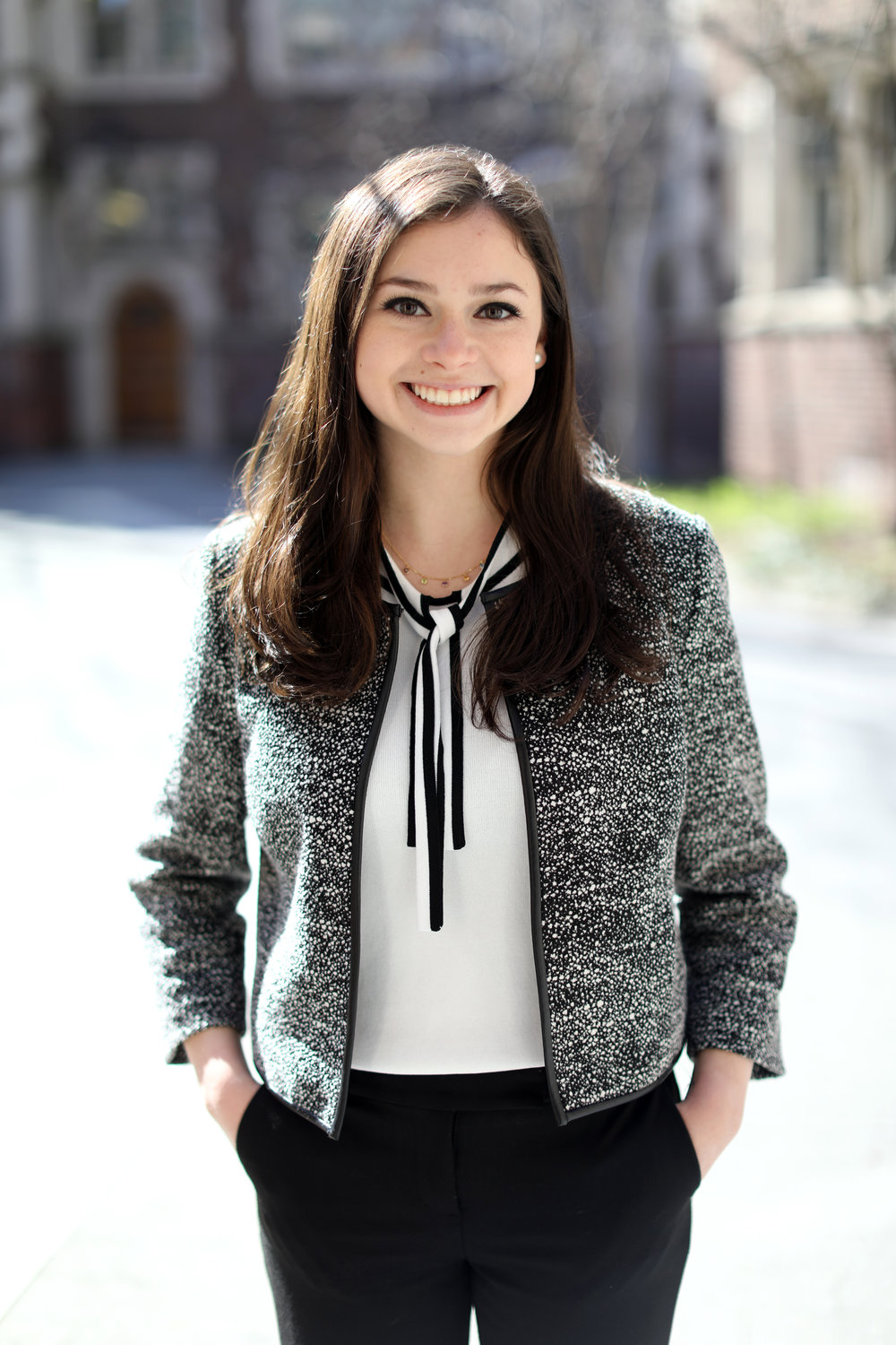 "Audrey Goldberg - Vice President of FinanceAudrey Goldberg (Class of 2019) is from Yardley, Pennsylvania and plans to pursue Marketing, Operations, Management, and Social Impact and Responsibility at Wharton. After serving as the Vice President of Membership Development (2016), and as President (2017), she is excited and honored to be serving on the executive board as the Vice President of Finance. Audrey is looking forward to continuing to oversee the ""Wharton Women Allies"" committee: a group of passionate individuals with the mission of educating undergraduates and encouraging gender equality in the workplace. In addition to her involvement in Wharton Women, Audrey is a Community Director in Cohorts. Feel free to reach out to her at augold@wharton.upenn.edu."
