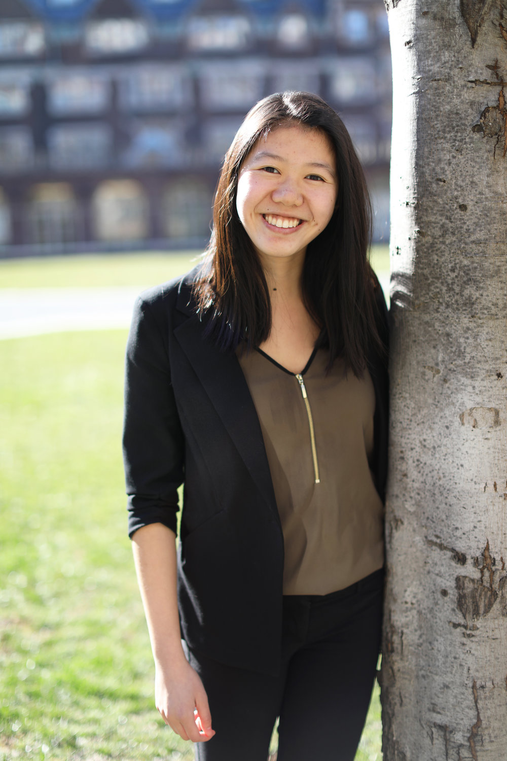 Carissa Zou - Vice President of PhilanthropyCarissa Zou (Class of 2020) is from Palo Alto, California and plans to concentrate in Finance and Operations, Informations, and Decisions. In the next year, Carissa is incredibly excited to serve as the VP of Philanthropy and continue to fortify and empower women in the local Philadelphia area and on Penn's campus through Wharton Women's two annual philanthropic events, the Dollar Diva Conference and Dressing for Success. She is also looking forward to starting the new Financial Literacy Tutoring Project in hopes of spreading financial literacy resources to a broader scope of local Philadelphia schools. Aside from Wharton Women, she is also a tour guide for the Kite and Key Society, a project leader for MUSE Social Impact Consulting, and works at the Student Federal Credit Union. Feel free to reach out to her at czou@wharton.upenn.edu.