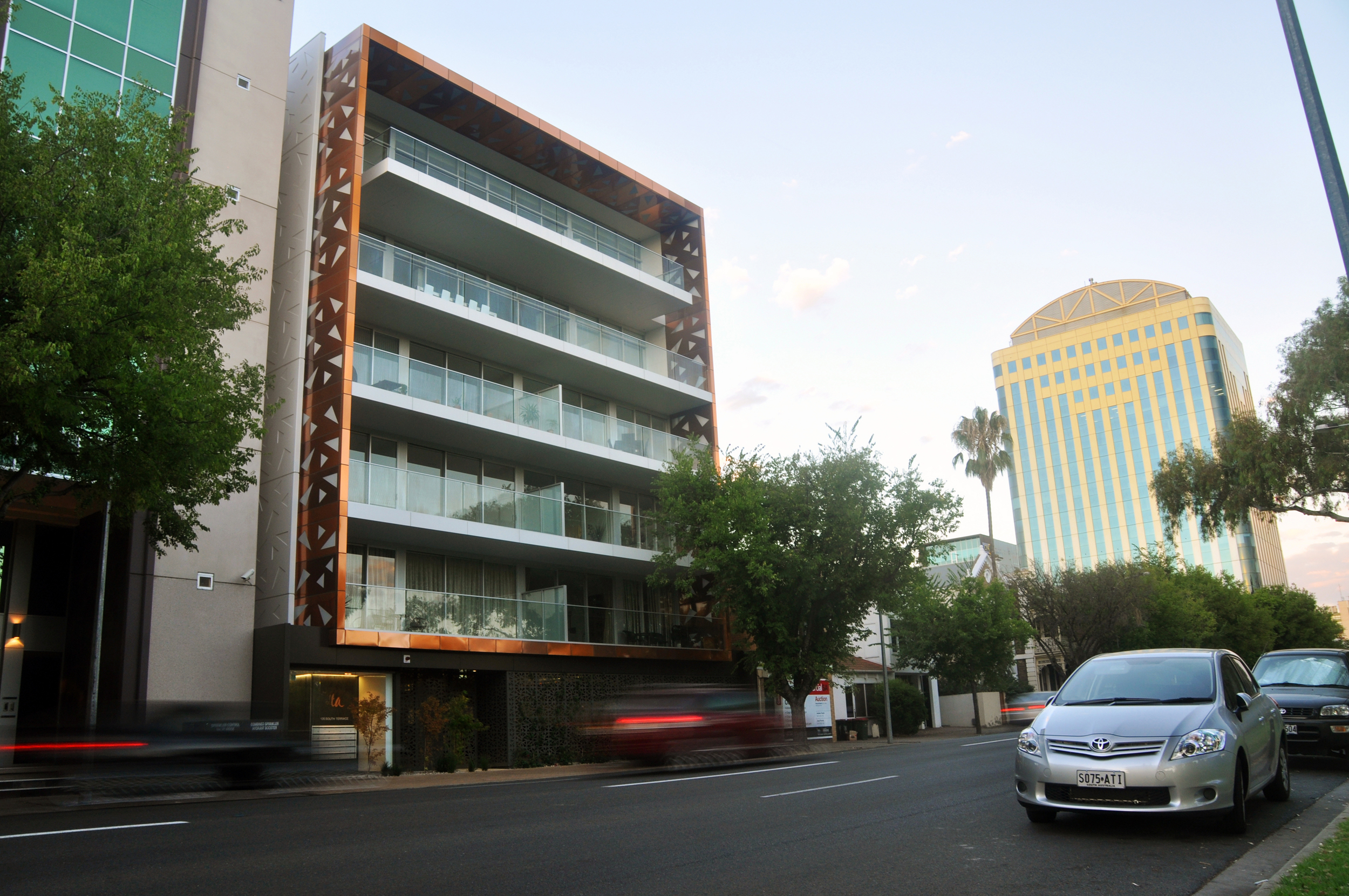 Alta apartments introducea newstandard of design to South Terrace
