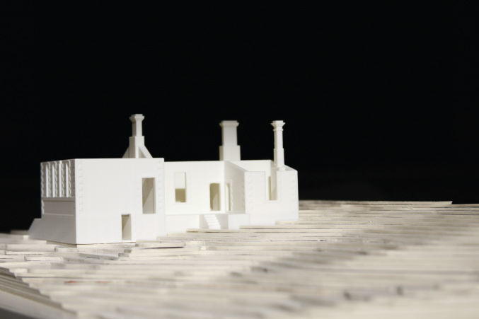 A residential project is modelled for analysis
