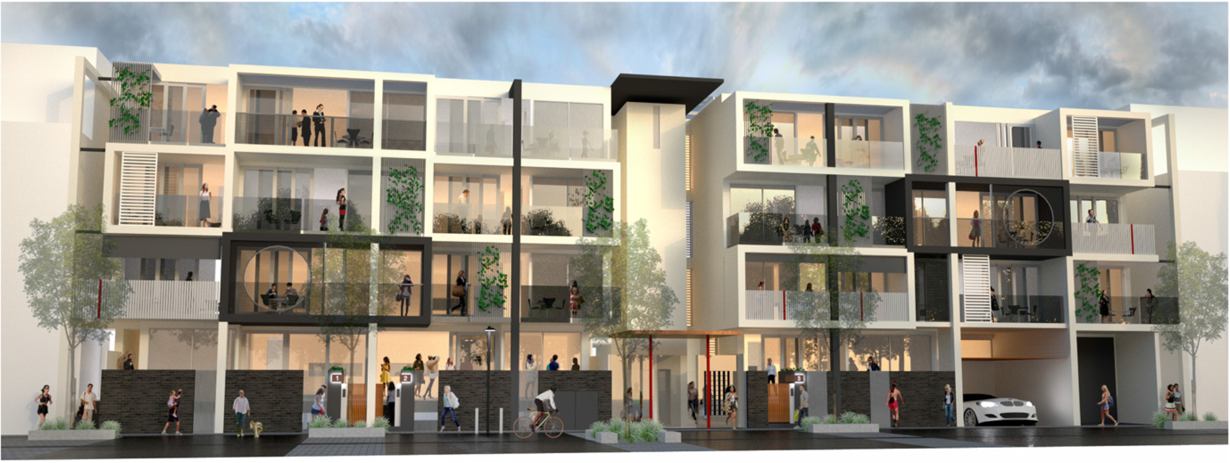 A residential development at Bowden can be brought to life through a 3D visualisation