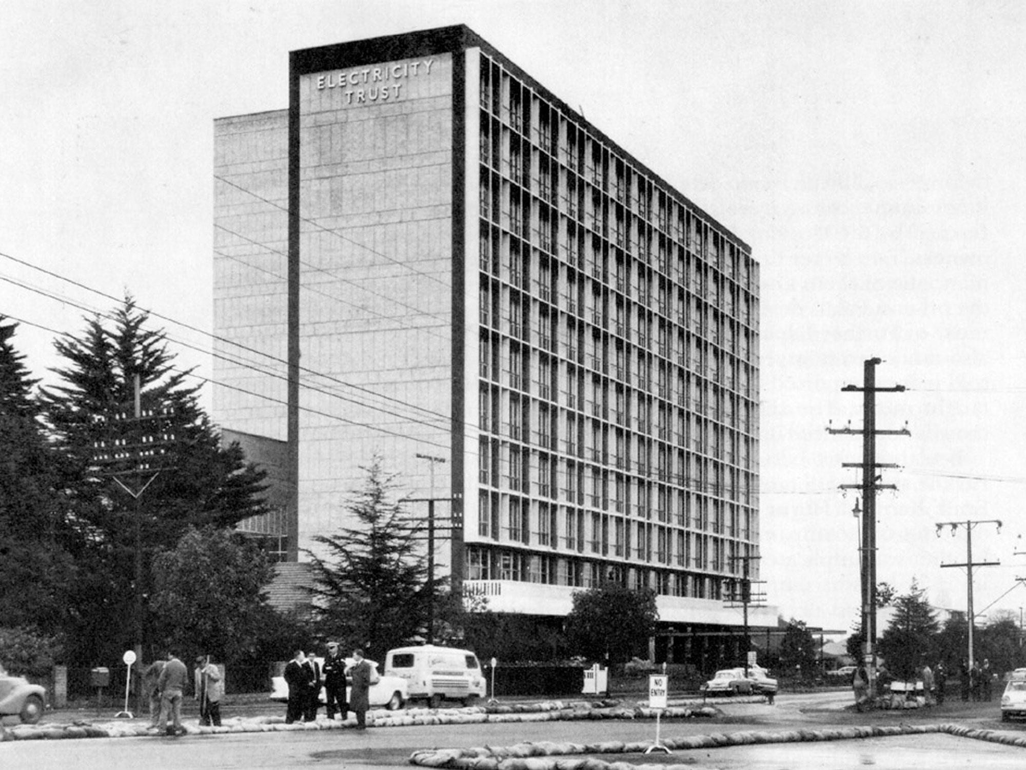 The Original 1960's 'ETSA' building