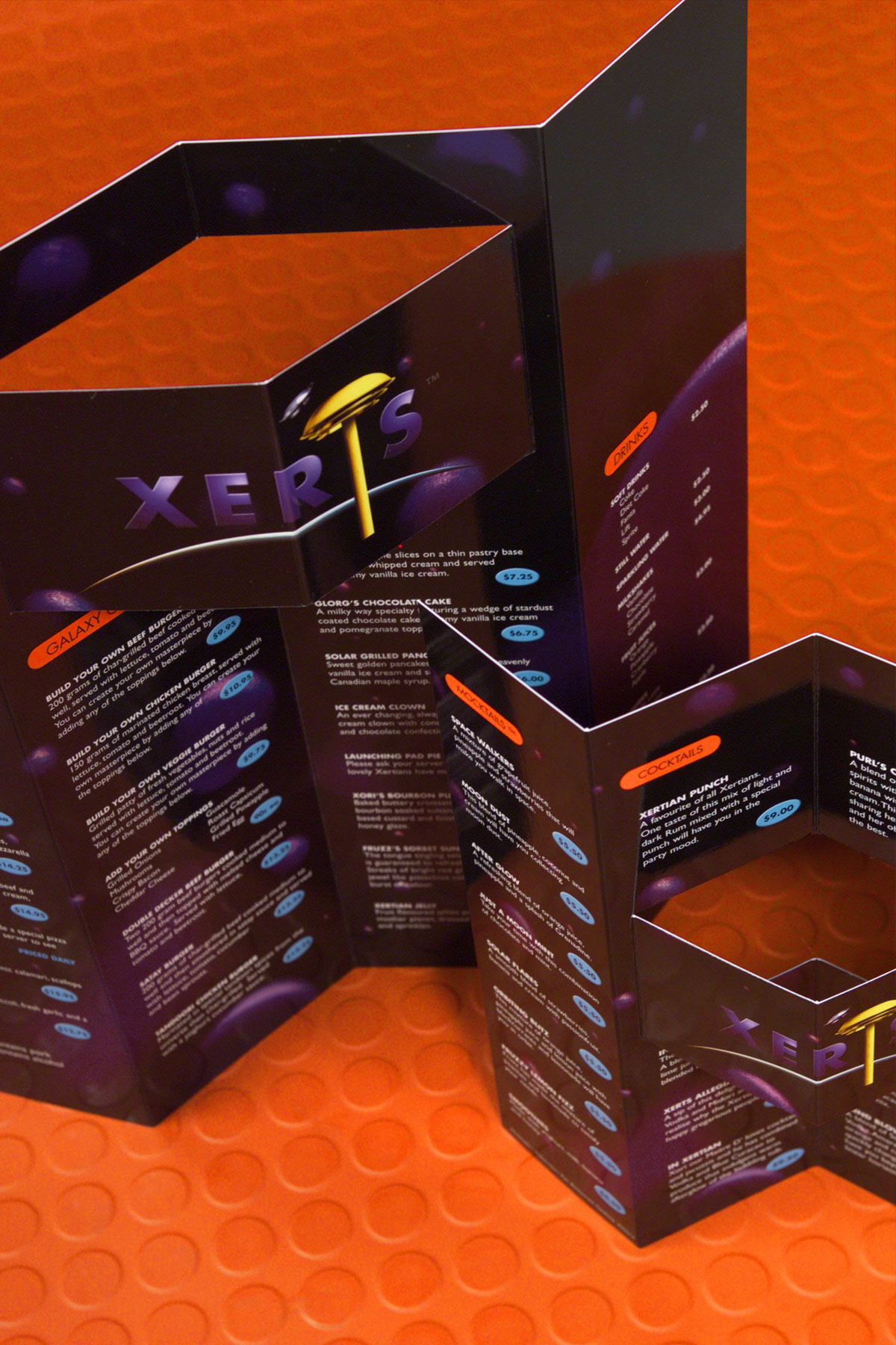 Menus were also designed by the tectvs team