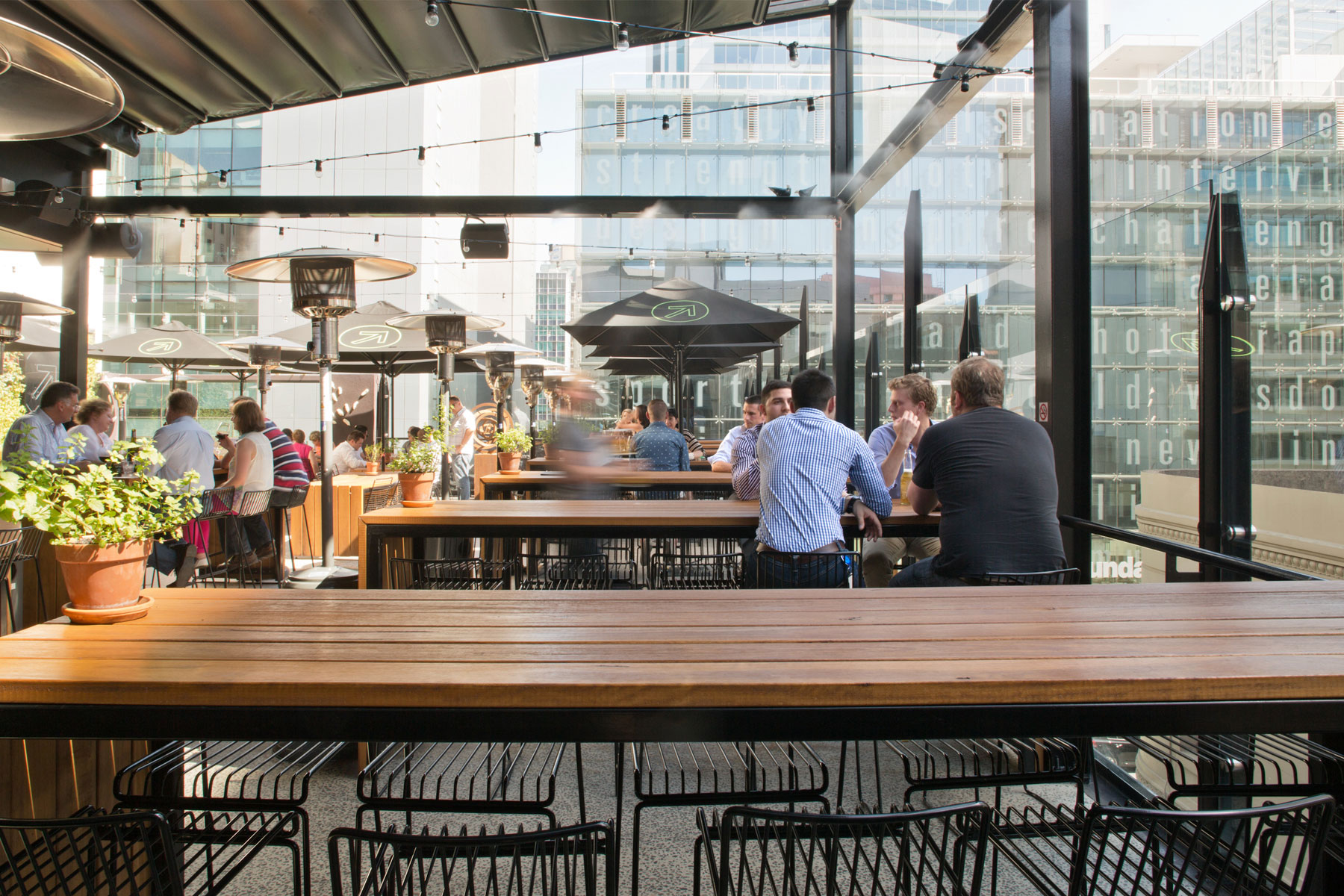 The Rooftop Bar has become one of Adelaide's most popular spaces