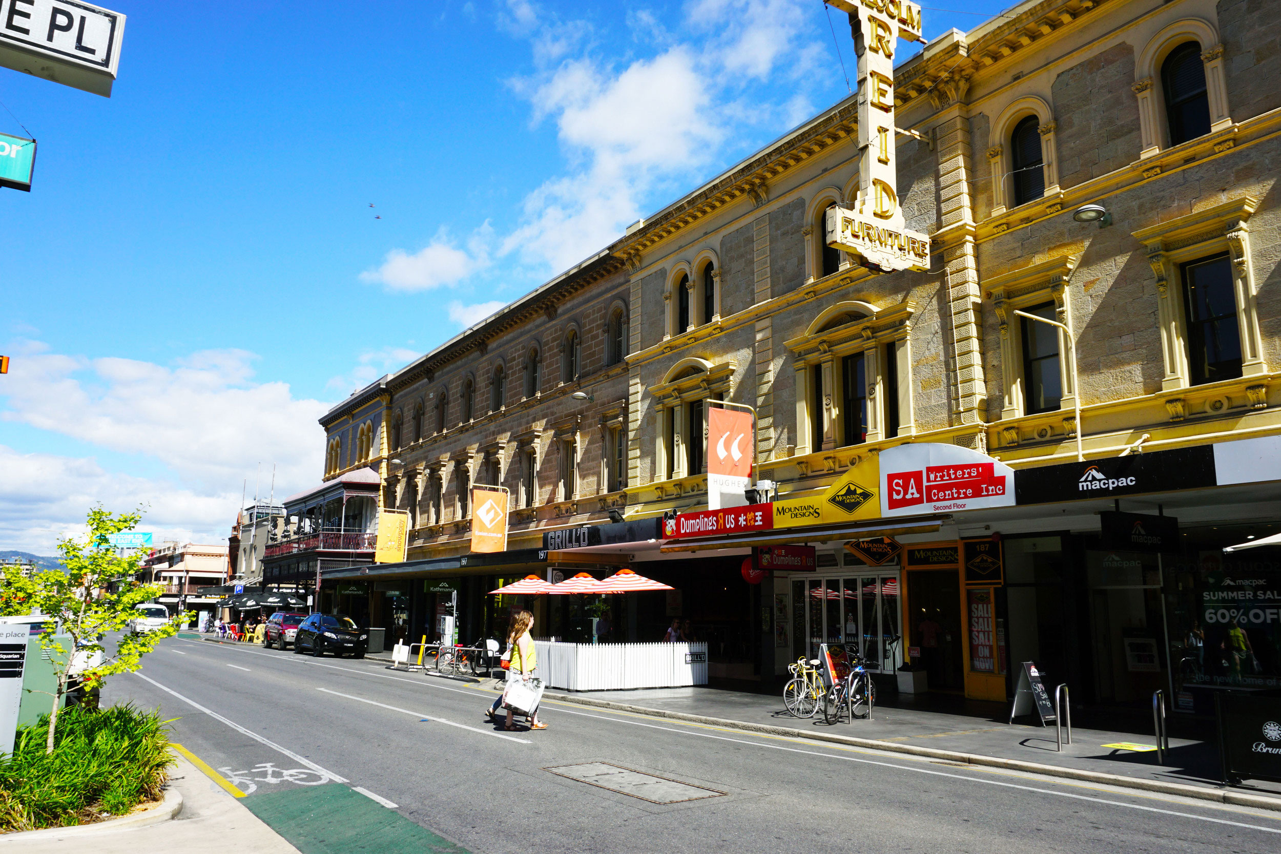 Hayborough building is one of Rundle Street's architectural icons