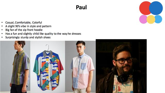 Paul Wardrobe Concept