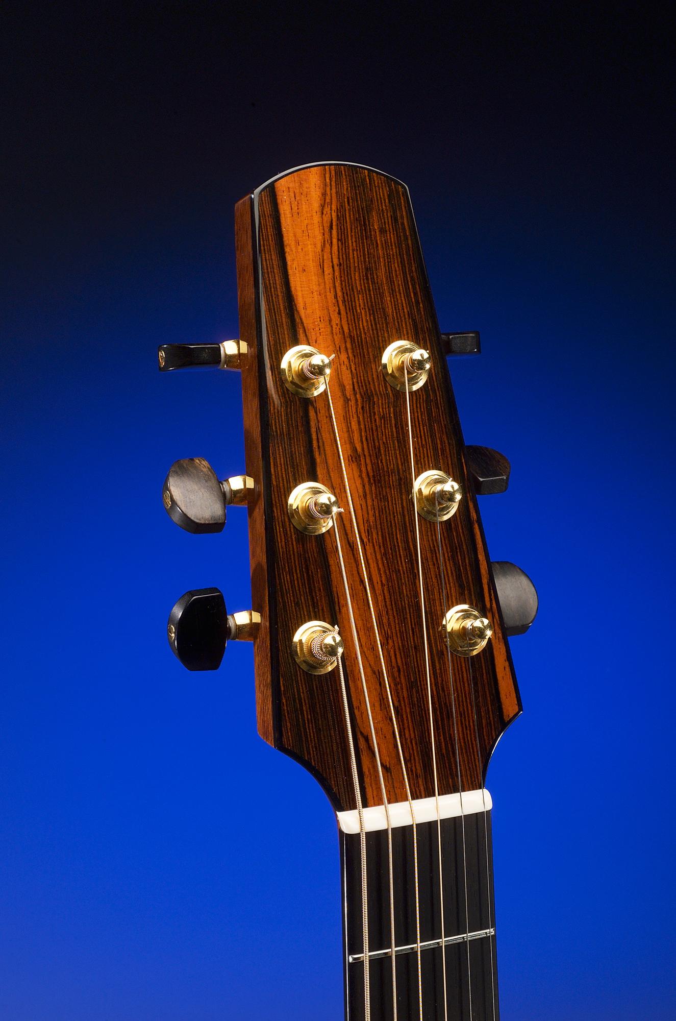 Traugott Model BK Brazilian cutaway guitar