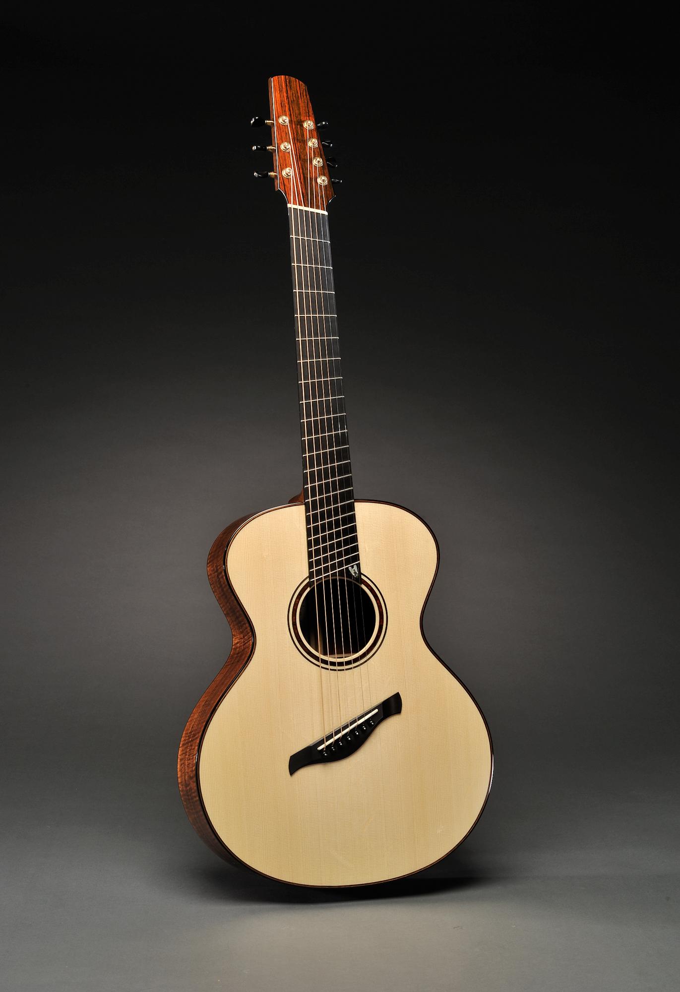 Traugott Model R Koa Fan Fret 7-string