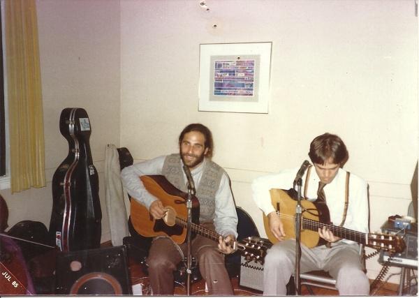 Jeff and Al circa 1983