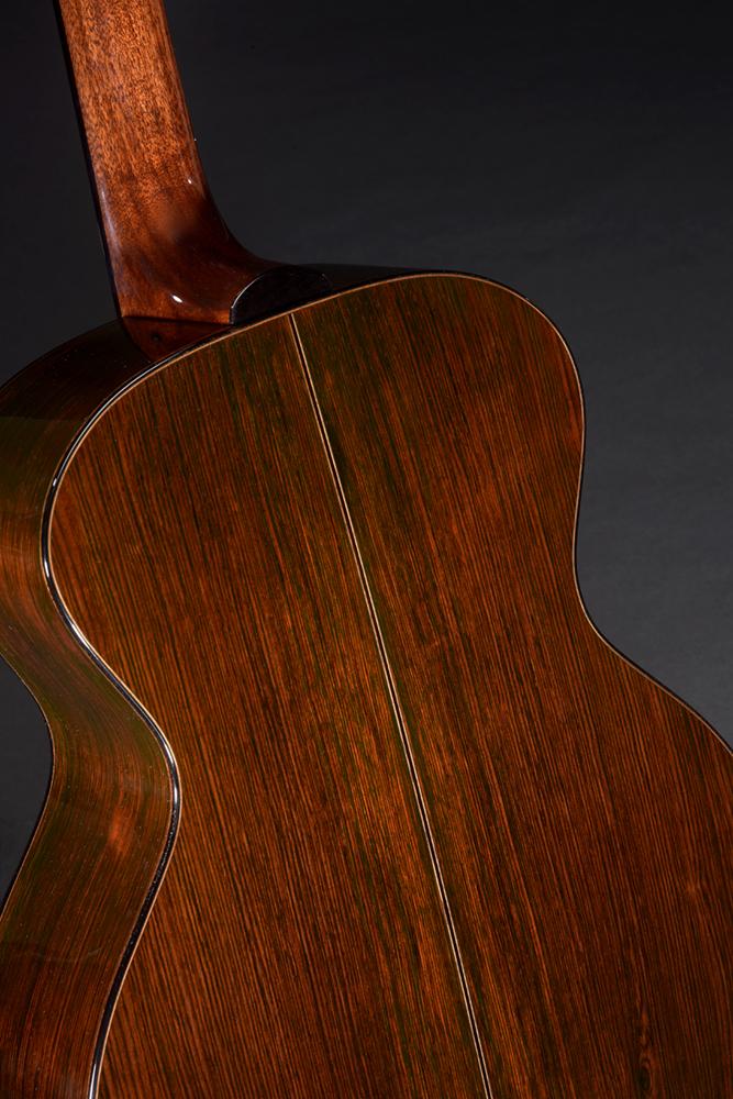 Brazilian Rosewood back and sides, Mahogany neck