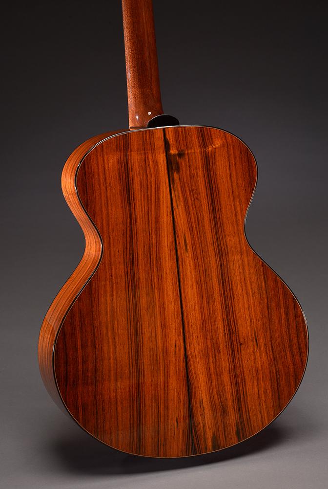 Old-growth straight-grain Brazilian Rosewood