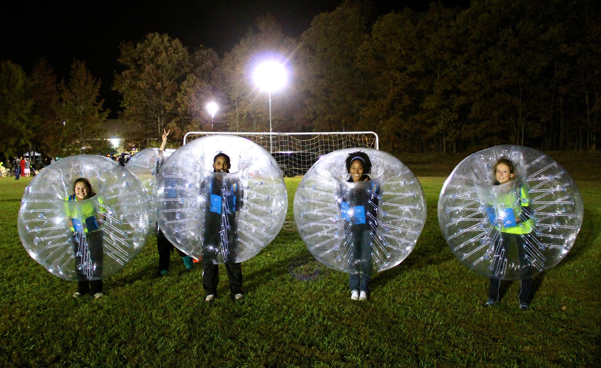 Washington DC Bubble Soccer