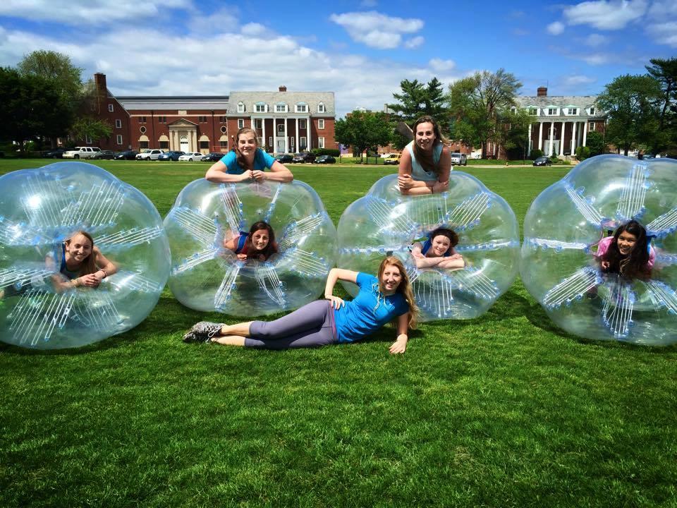 University of Maryland Bubble Soccer Rental