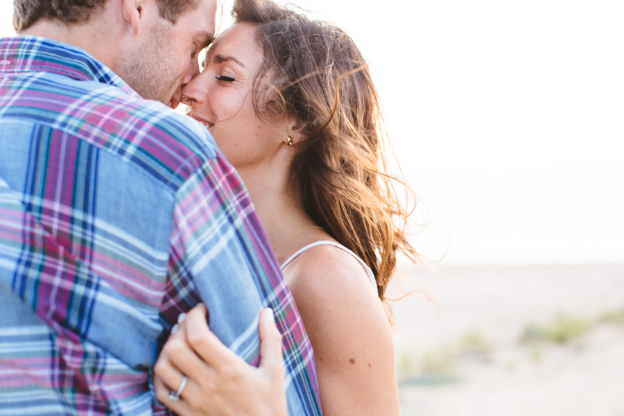 Jenny & Rob's beautiful and romantic sunset Race Point Beach engagement photography in Provincetown, MA (5)