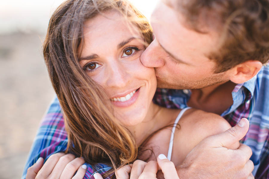Jenny & Rob's beautiful and romantic sunset Race Point Beach engagement photography in Provincetown, MA (7)