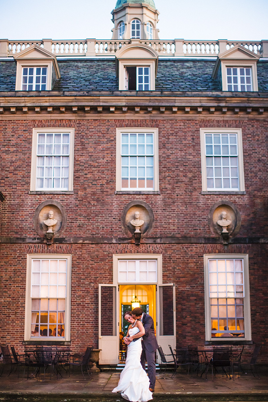 Genevieve & Brett's Beautiful wedding at the crane estate in ipswich, ma during sunset