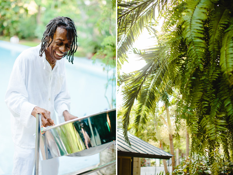 steel drum player hemingway house key west florida photographer