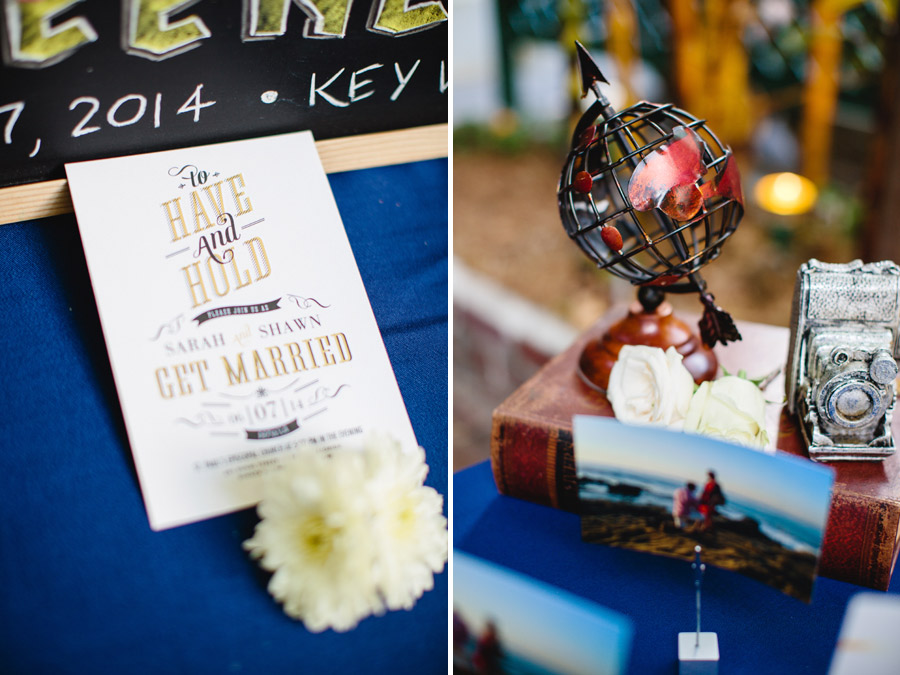 lovely and vintage inspired hemingway home key west florida destination wedding  wedding details
