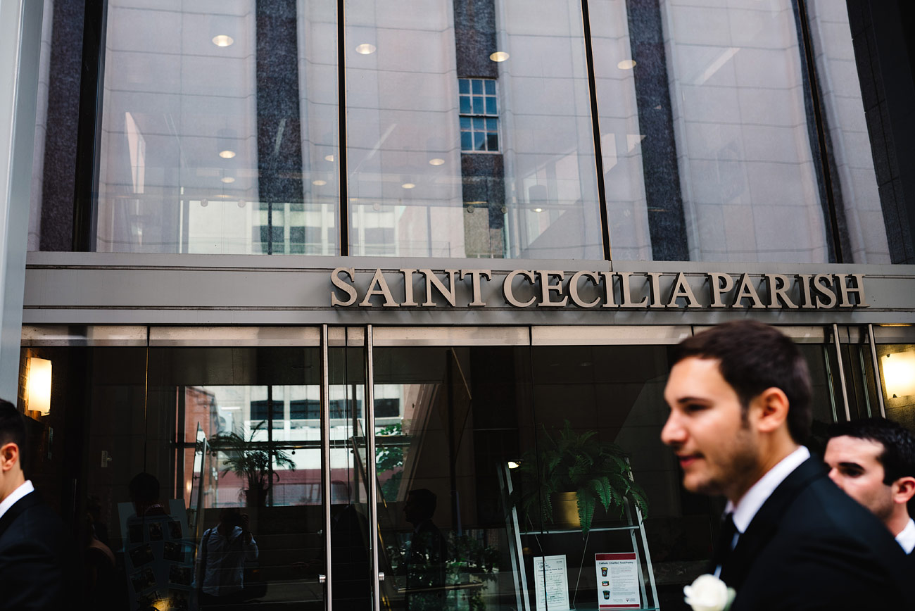 planning your wedding at saint cecilia church