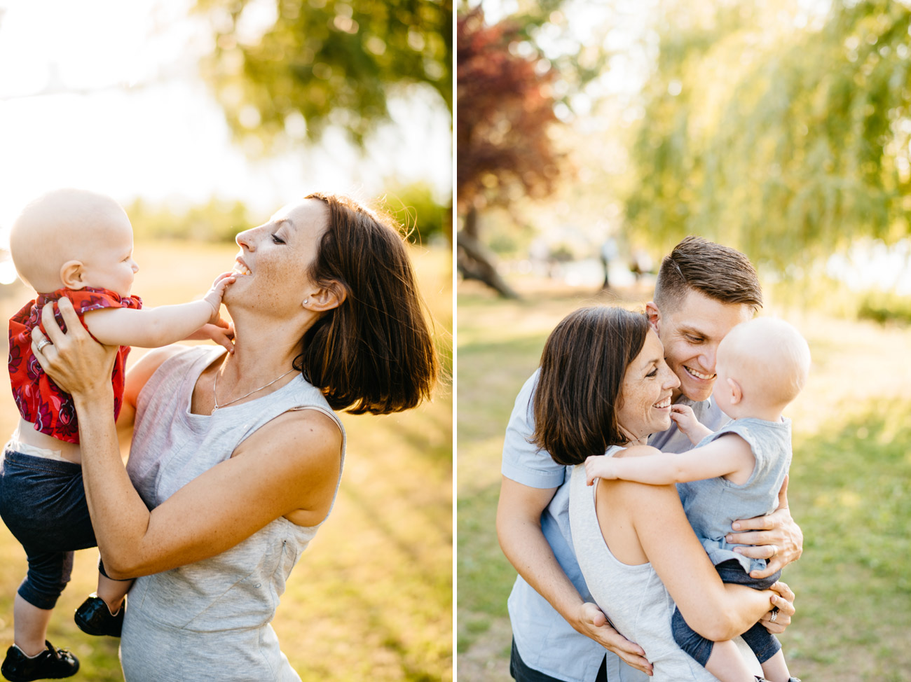lifestyle and creative boston area family photographer, mom dad and baby