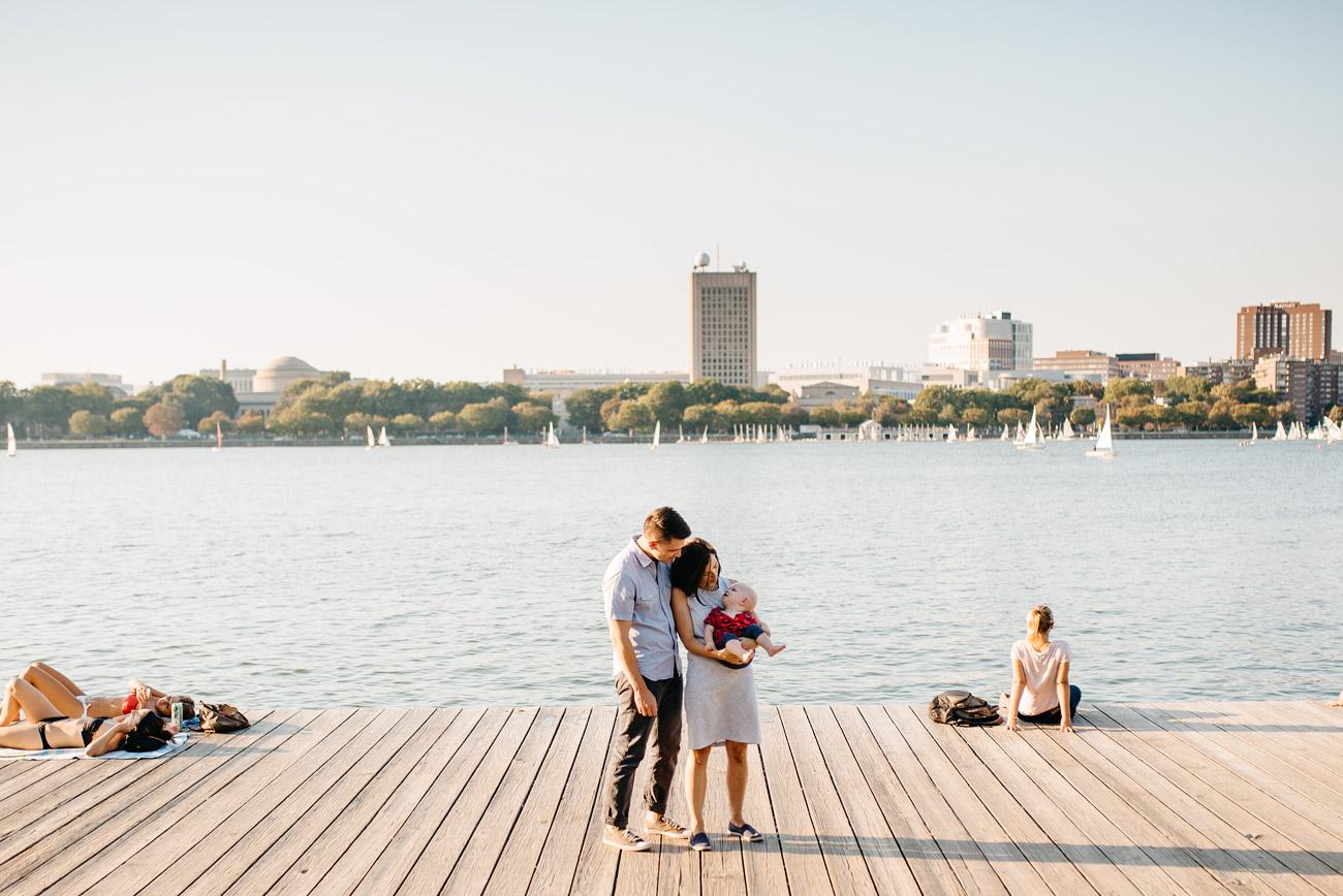 boston for families, fun family at the boston esplanade