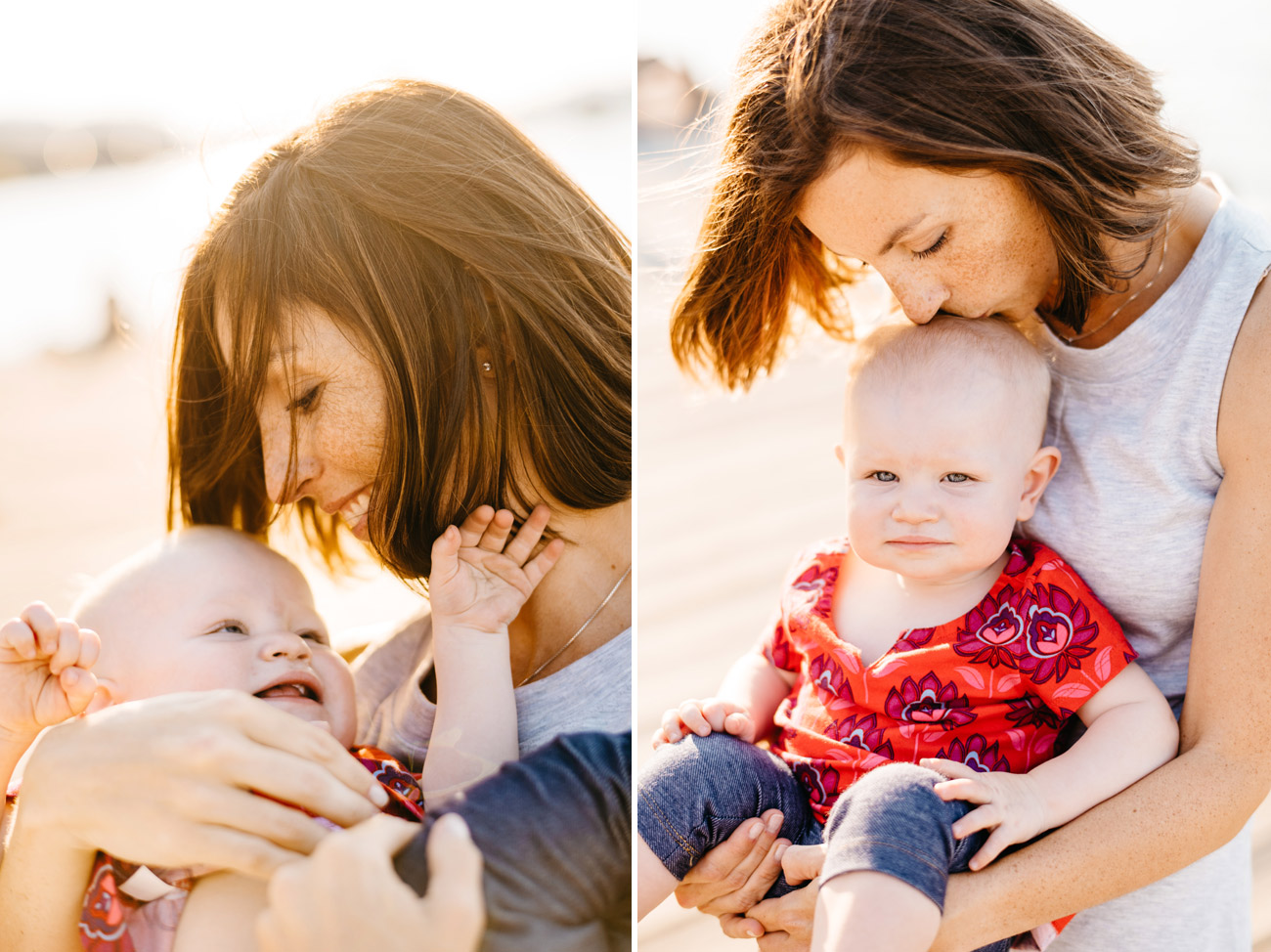 fun and creative boston and new england family photographer mom and daughter on the esplanade