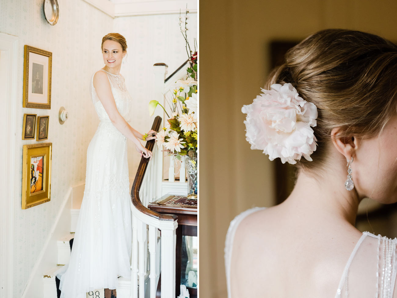 bridal portraits at a small intimate cape cod wedding in sandwich ma photographers