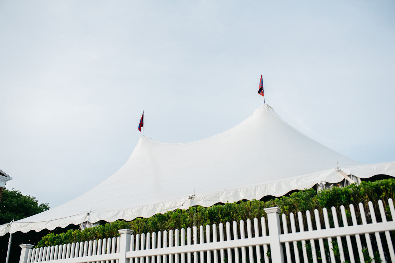 eastern point yacht club in Gloucestor, MA tent outdoor tents in massachusetts