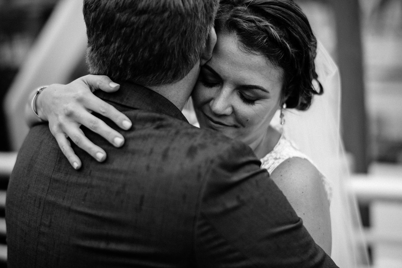peaks island wedding photography black and white moment