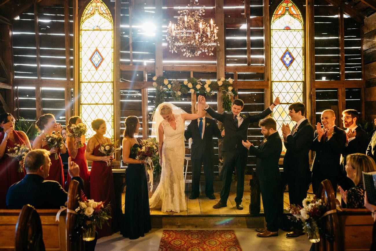 bride and groom married at bishop farm rustic inspired weddings