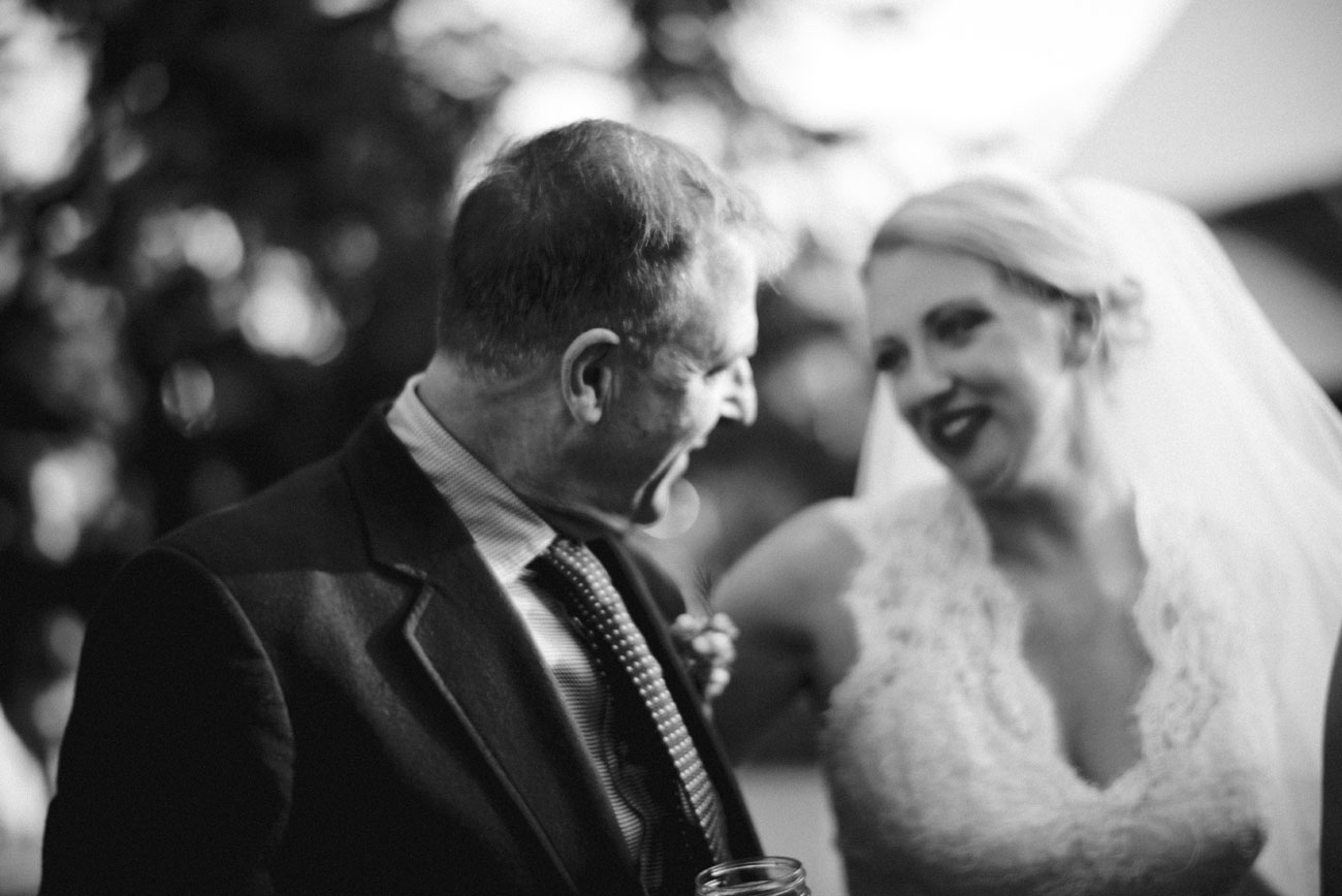 bride and her dad at bishop farm sweet moments are better than gold, lifestyle weddings