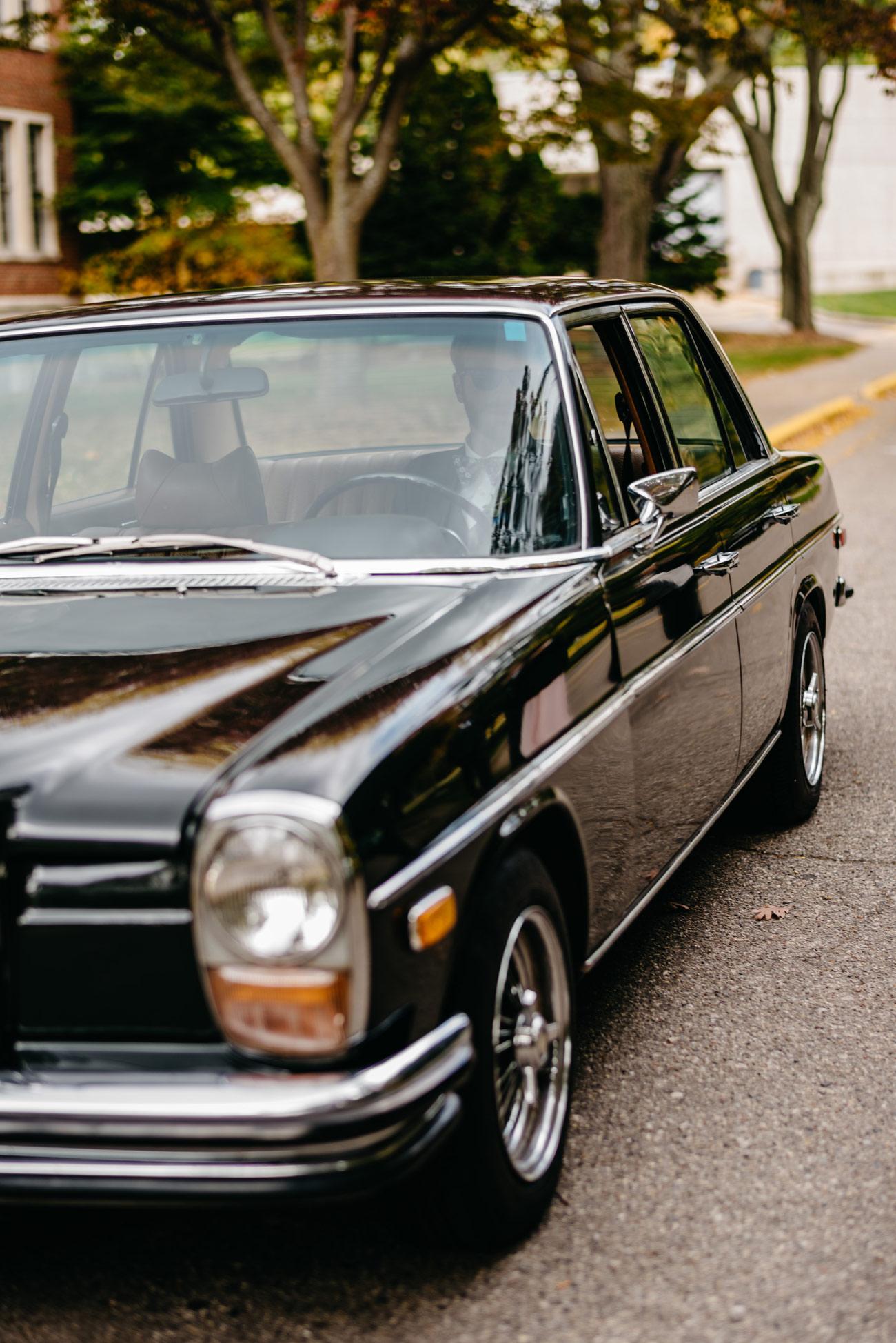 vintage mercede at weddings destination wedding photos
