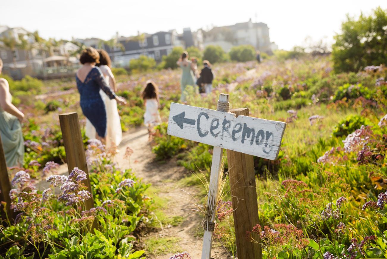 private beach weddings in california, beach wedding inspiration