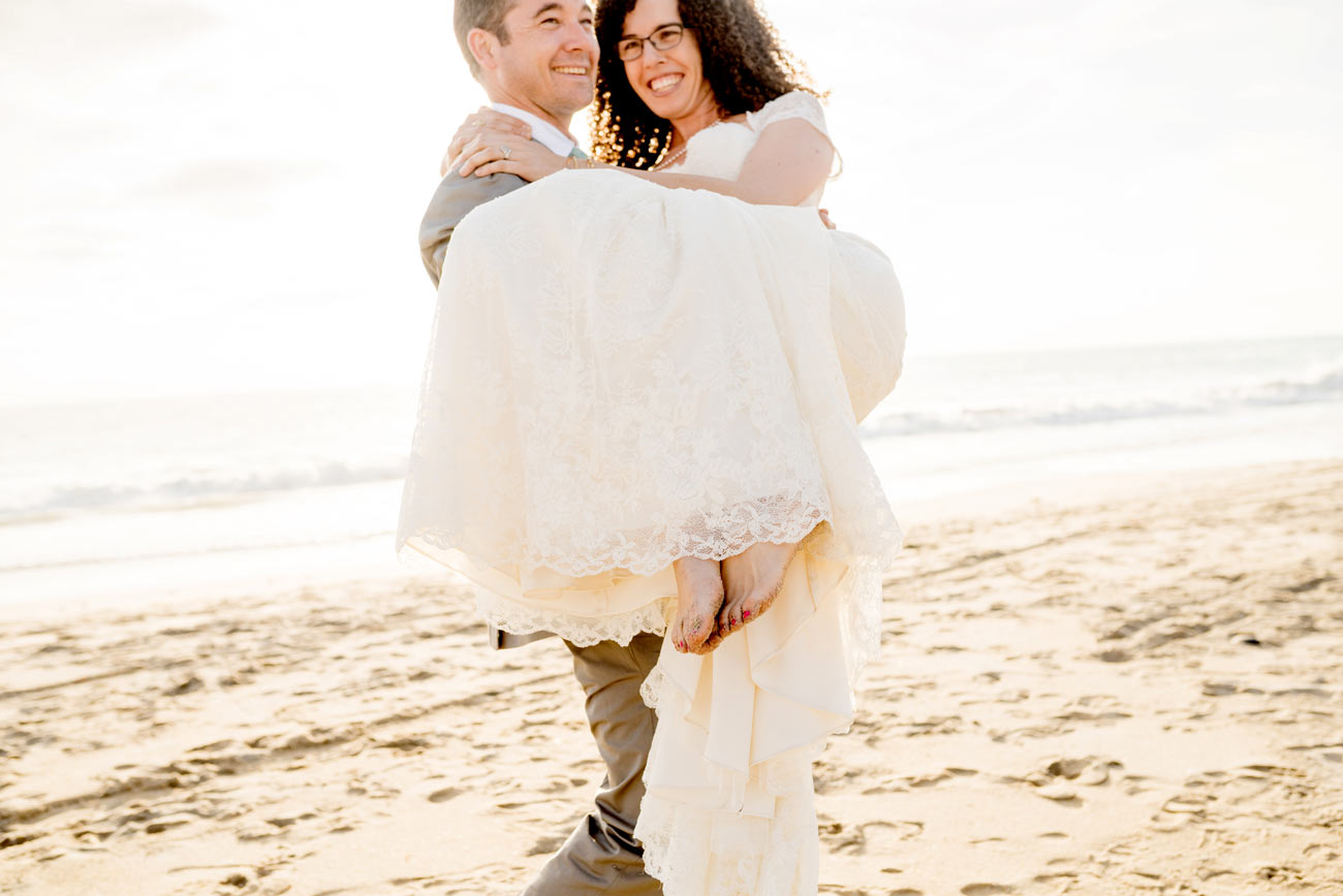 santa lucia preserve wedding  beach portraits