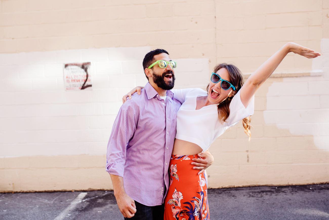 lifestyle couple in boston engagement photography