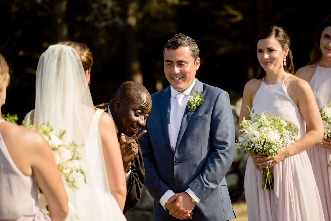 real moments at outdoor ceremony at bourne farm in falmouth ma new england outdoor weddings