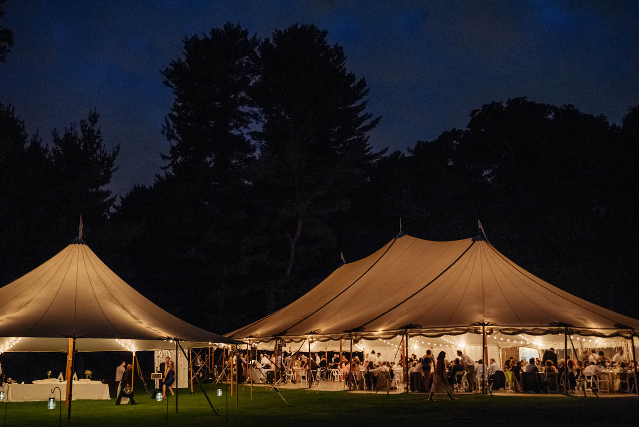 night weddings at venues outside of boston