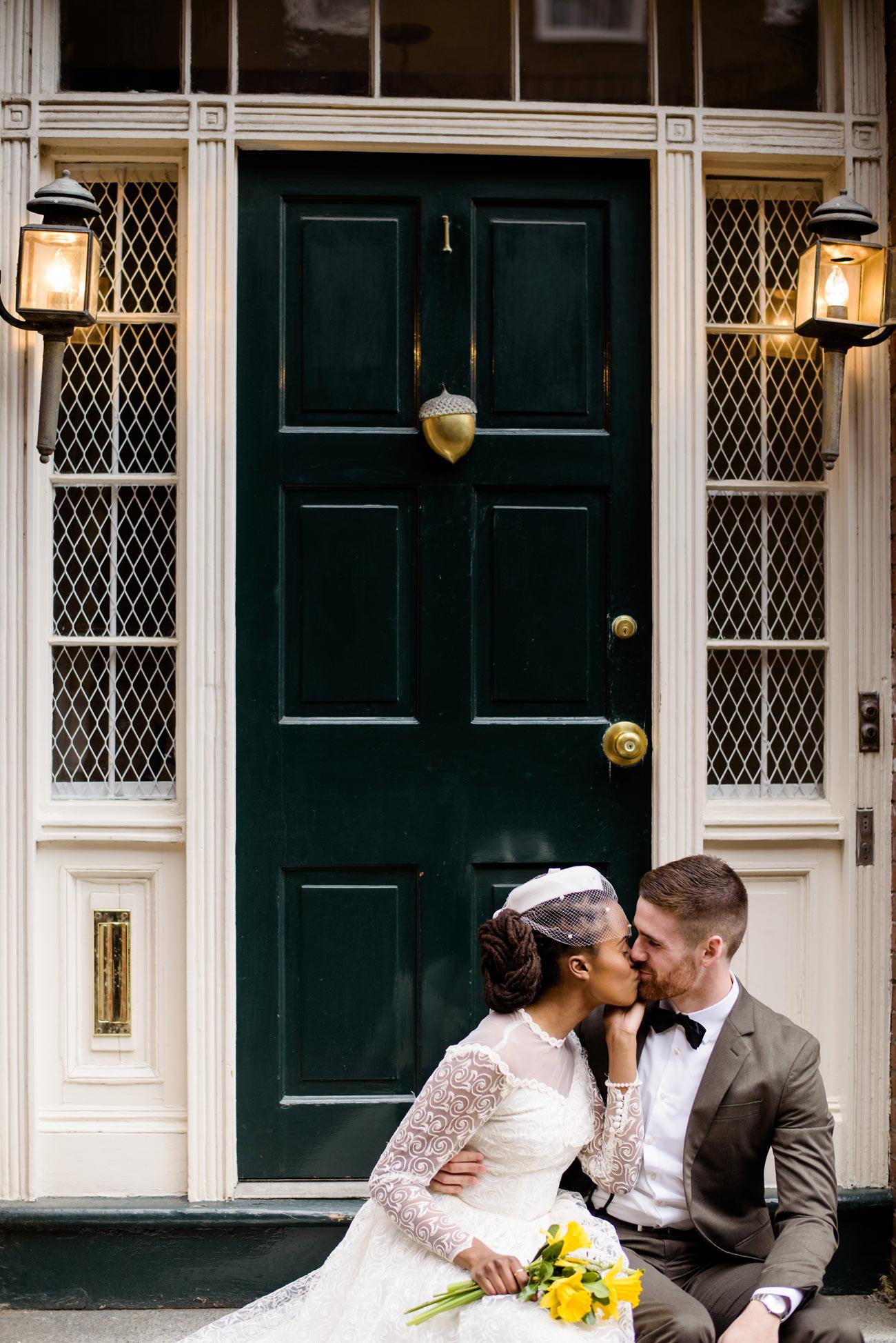 timeless boston beacon hill elopement photos
