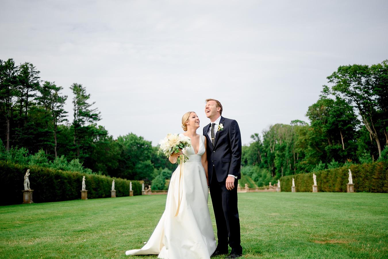 Castle Hill Crane Estate wedding in Ipswich, Mass.