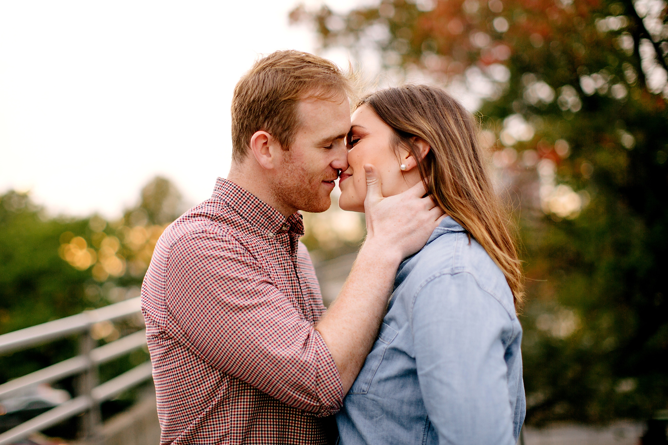 lifestyle photo of a boston engagement session on the charles river