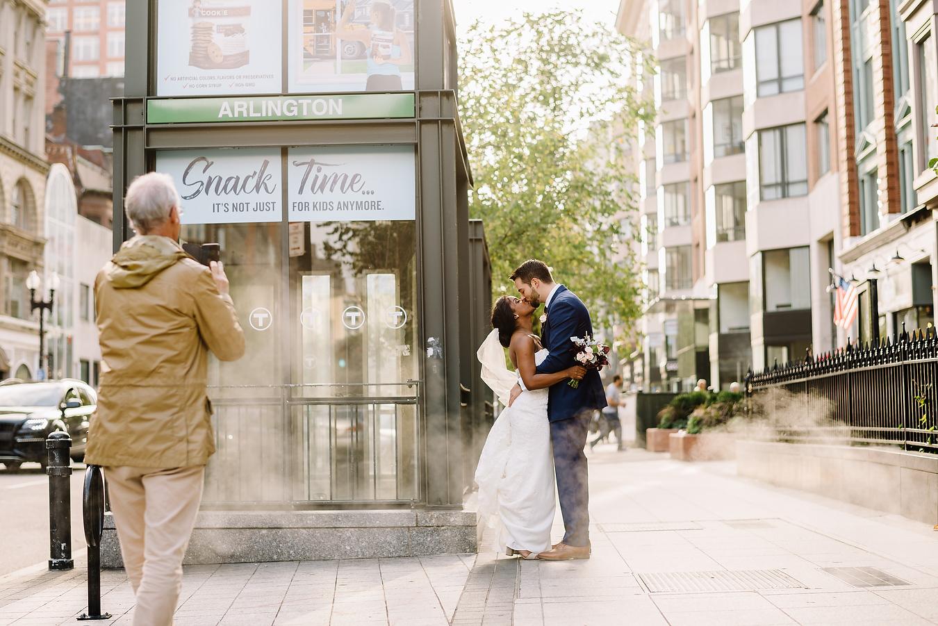 newbury street wedding portraits and photos inspiration