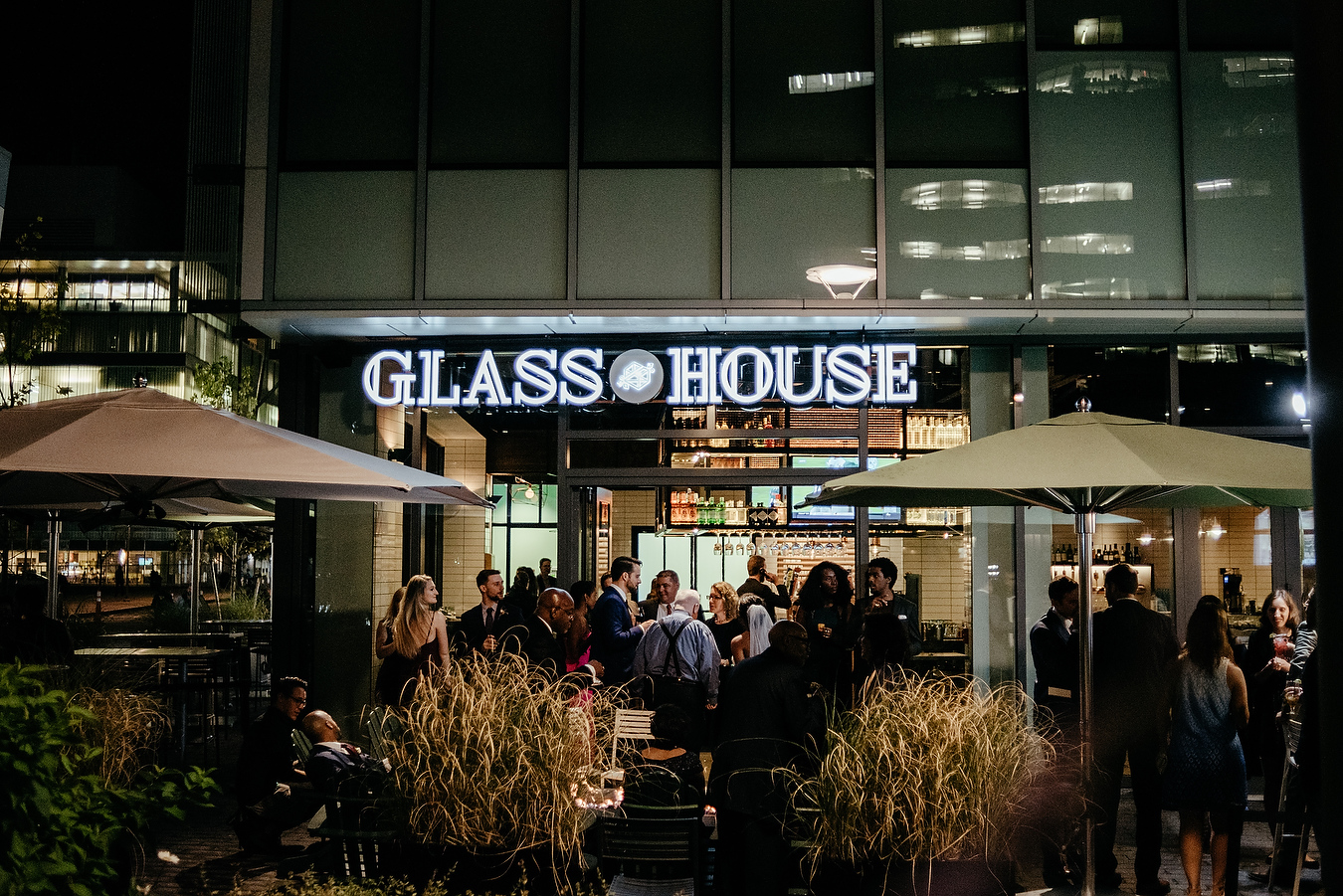 the glass house wedding in cambridge